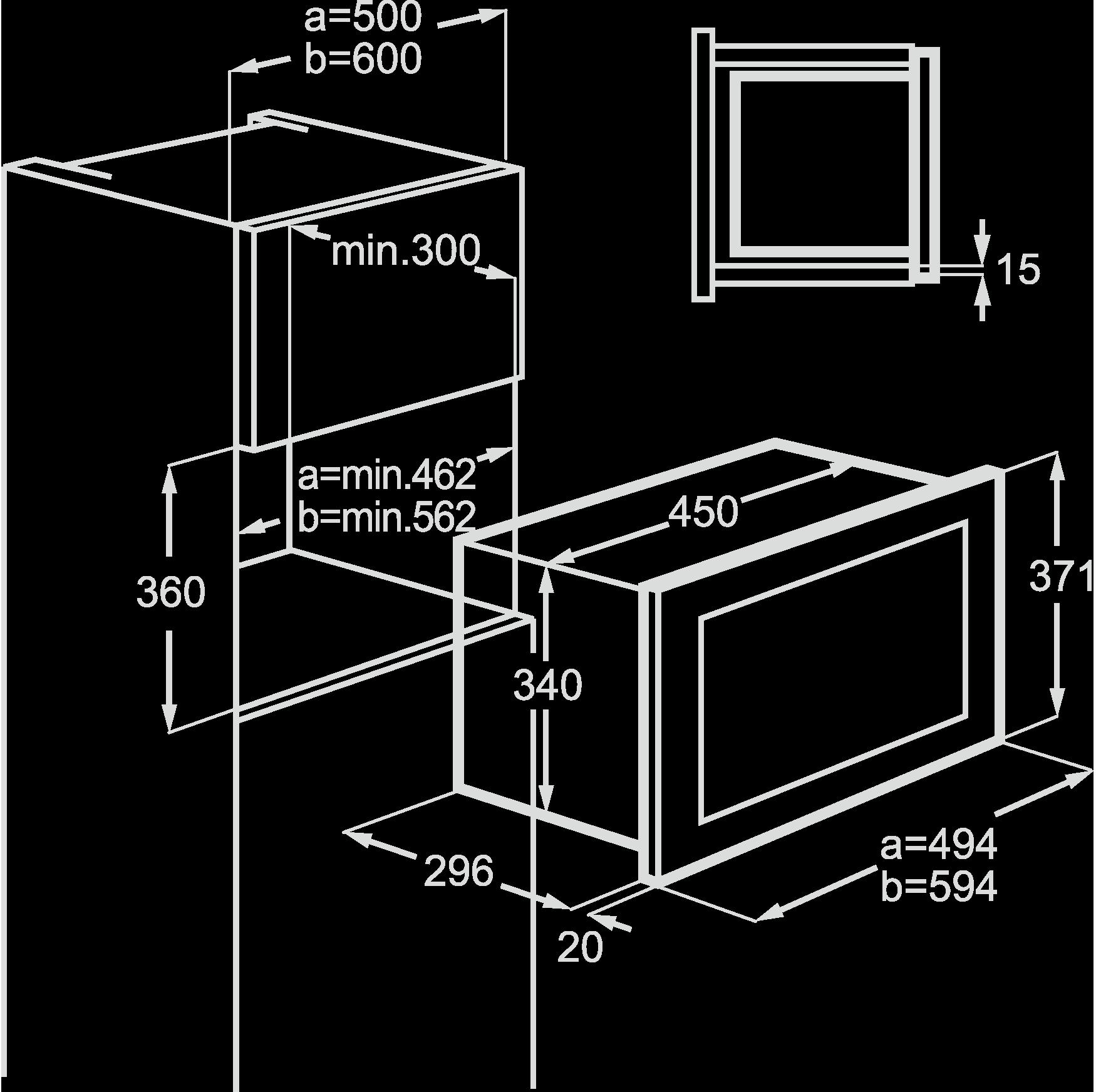 家电产品三包_Microwave 嵌入式微波炉系列_38厘米Microwave 嵌入式微波炉-德国AEG ...